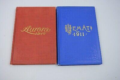 Used, Kristlig Kalendar Swedish Christian Calendar 1910 and 1911 for sale  Las Vegas