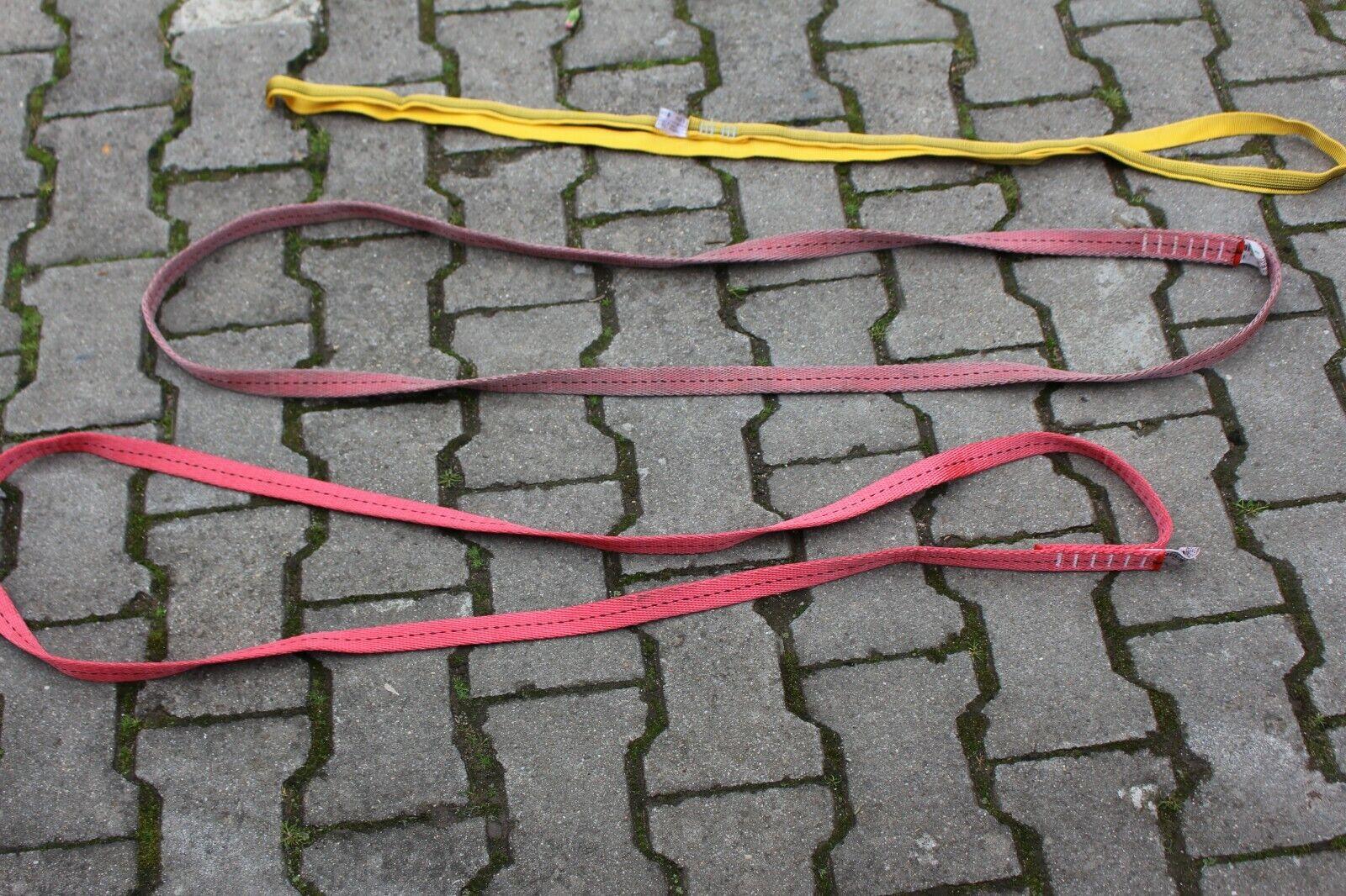 Bandschlinge Rundschlinge Kletterschlinge Klettern 1,20m Feuerwehr THW gebr