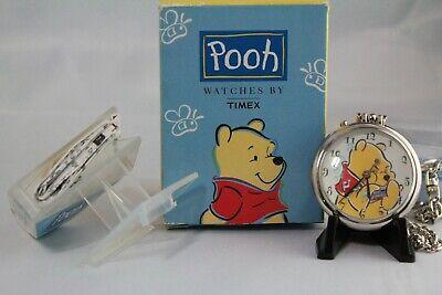 New Disney Winnie the Pooh Timex Musical F3 Pocket Watch
