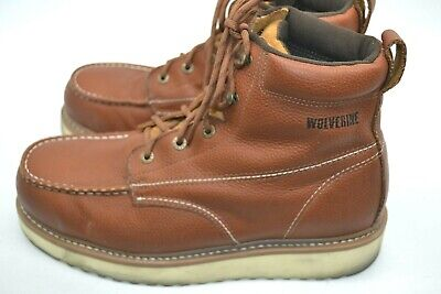 ea8aa2f9ad3 WOLVERINE STEEL TOE 6 WORK BOOTS W04013 SIZE 8 5 M NEW