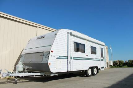 Evernew E series Caravan with Shower & toilet