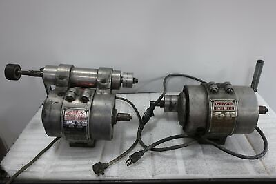 Qty2 Themac J7 Precision Grinders W Case Extras