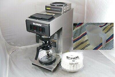 Bunn Vp17-2 Commercial Coffee Maker 13300.0002 Sn Vp17230754