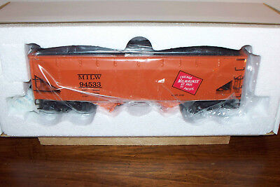 K-LINE TRAIN K6251-1371 MILWAUKEE ROAD DIE-CAST TWO-BAY HOPPER WITH COAL LOAD  for sale  Hot Springs Village