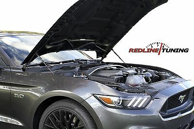 2015+ Ford Mustang Bolt-in Hood Quick LIFT PLUS System Gas Strut Damper Shocks