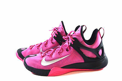 great fit 0a6d7 ae4df NIKE MENS ZOOM Hyperrev BASKETBALL PINK BLACK SHOES 12