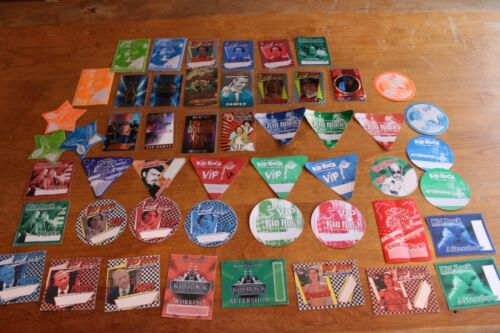 Kid Rock  - 51x Backstage Pass Unused  - THE ULTIMATE KID COLLECTION