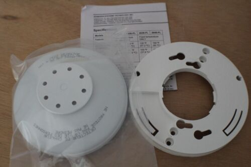 EDWARDS 282B-PL Heat Detector 194°F (90°C) Rate-of-Rise and Fixed Temperature
