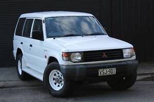 1993 Mitsubishi Pajero GL LWB Manual SUV Mile End South West Torrens Area Preview