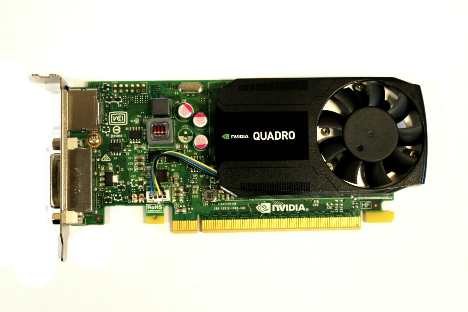 379T0 Dell Nvidia Quadro K620 2GB DDR3 Pci-E 2.0 x16 Video Grafikkarte