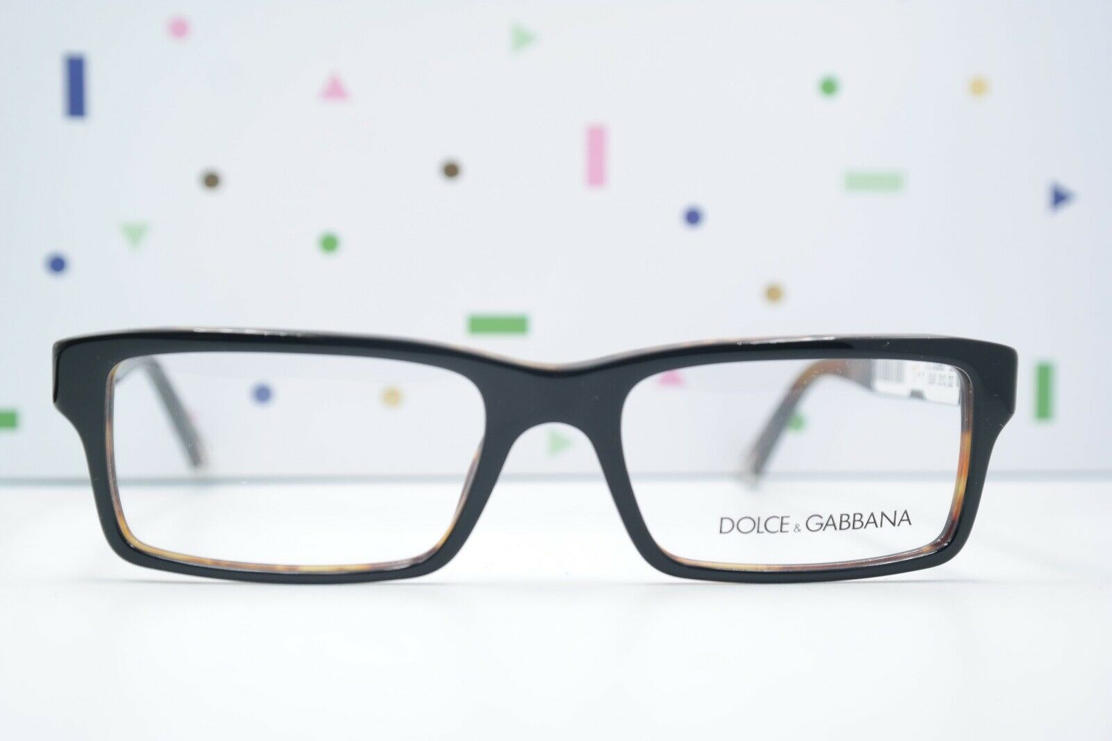 Brille Brillengestell Dolce Gabbana DG 3123 2517 schwarz Logo 52/17 140 NEU