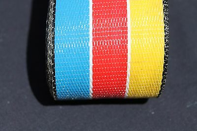 Wellington Lawn chair webbing 72ft new BLUE  RED YELLOW, reduced