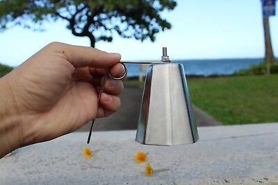 ULUA One Way Fishing Bells, Stainless Steel, Octagon Bells, Trevally Hawaii fish