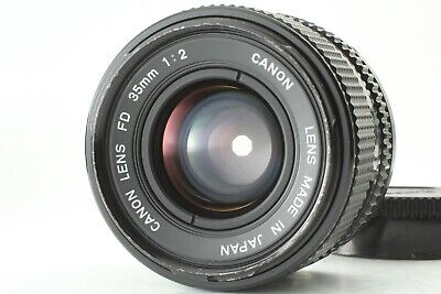 [EXC+++] Canon FD 35mm f/2 MF Wide Angle Lens from Japan