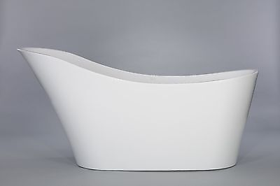 1001 NOW Stunning Avro Freestanding White Acrylic Seamless Bathtub