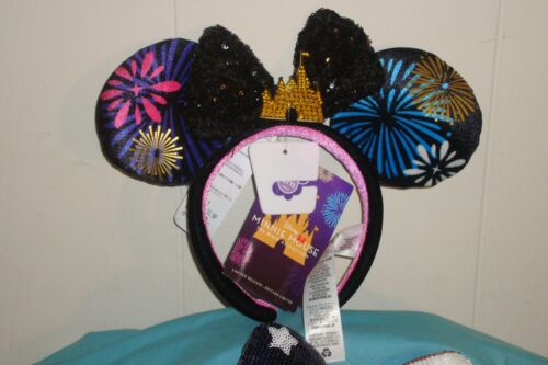 Disney Minnie Mouse The Main Attraction Ear Headband Fireworks Finale NWT