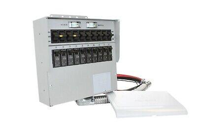 Reliance Controls Protran2 - 30 Amp Indoor 10 Circuit Transfer Switch
