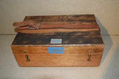 Jm Brunson Instrument Corp Model 381 Storage Box A1