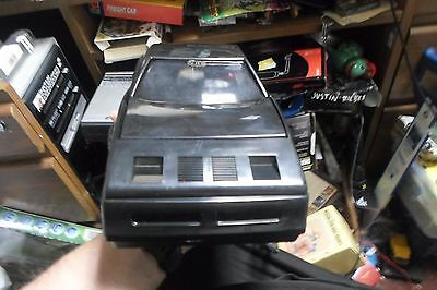 Vtg Sports Car Shaped VHS Tape Rewinder Red Great Working Condition