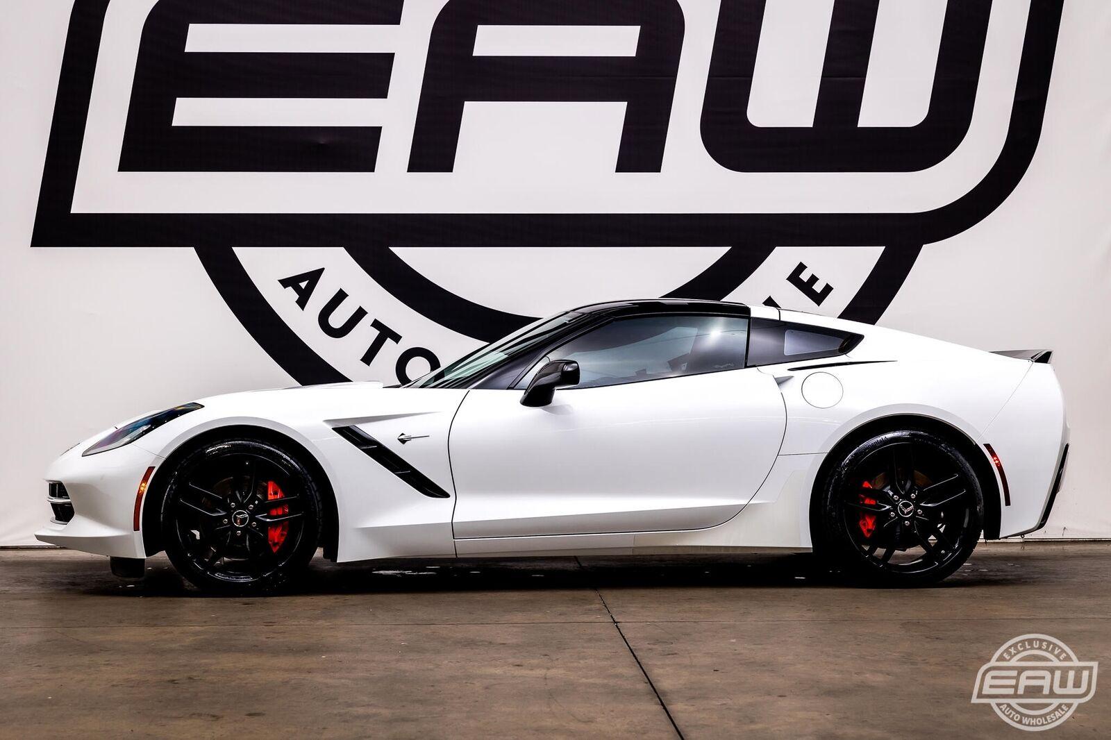 2014 White Chevrolet Corvette Coupe 1LT   C7 Corvette Photo 6