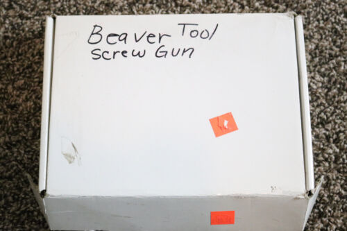 "**Discontinued** Beaver Tool 1/4"" Adjustable Cluch Screw Gun"
