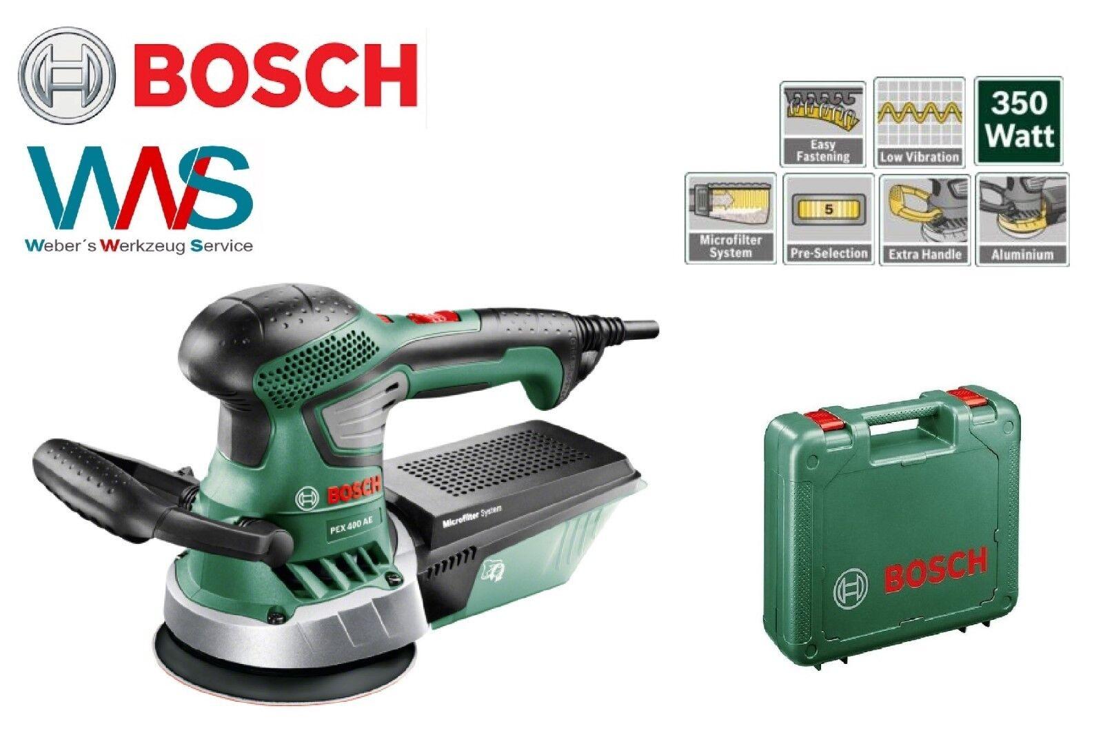 Bosch Velcro plateaux Support 125 mm pour PEX 125 a-1//12 A et AE//PEX 400 alt