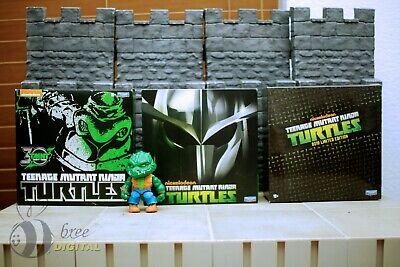 SDCC Teenage Mutant Ninja Turtles Raphael Leonardo and Shredder TMNT