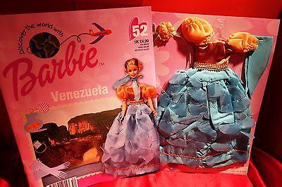 Barbie doll clothes Discover the World  Venezuela No 52  magazine & clothes