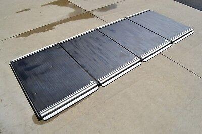 FC470 Zodiac Inflatable Hard 4 Panel Aluminum Floor w Stringers