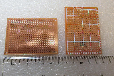 Circuit Prototype Pcb Board Veroboard 7 Cm X 5 Cm 70mm X 50mm Usa Seller Qty 3
