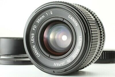 【Excellent5】 Canon New FD 35mm F/2 NFD Wide Angle MF Prime Lens From JAPAN 141