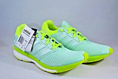 bb1acaed7 Adidas Supernova Glide Boost Cross Train Running Shoes B33609 Turquoise  Yellow