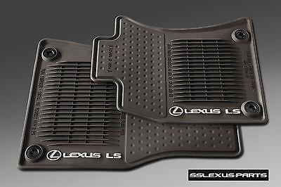 Lexus LS460L (2013-2017) (AWD / ALL WHEEL DRIVE) 4pc ALL WEATHER FLOOR MATS OEM