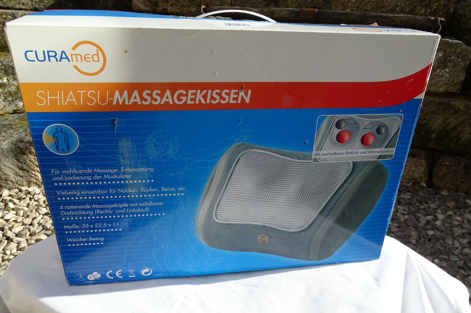 CURAmed SHIATSU-MASSAGEKISSEN