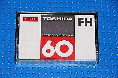 SEALED TOSHIBA BOMBEAT 60 MS   BLANK CASSETTE TAPE 1