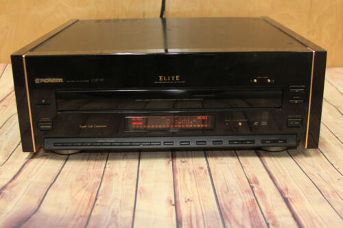 Pioneer Elite CLD-97 Laser disc Player Cd Tested & Working Good Condition CDV LD