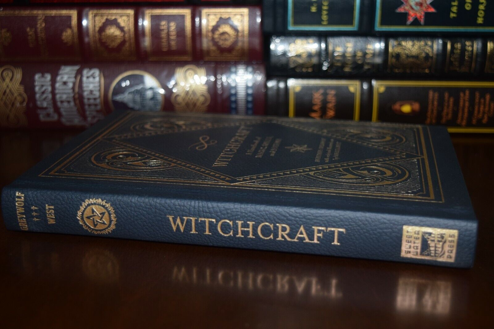 Witchcraft Handbook of Magic Spells and Potions Ribbon New Deluxe Hardcover Gift