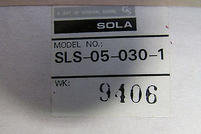Sola Sls 05 030 1 Linear Power Supply 5 Vdc 3 Amp