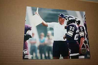 MINNESOTA VIKINGS BUD GRANT UNSIGNED 8X10 PHOTO POSE 1