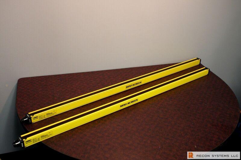 "Banner Mini-Screen MSR4824Y Light Screen Reciever. 48""."