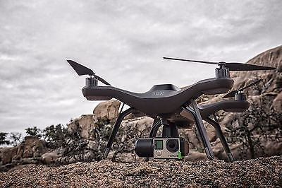 3DR - Solo Drone - Infernal - FACTORY RB Quadcopter SA11A for GoPro Camera - Refurb