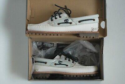 NEU: Timberland 3 Eye / Moccasin Schuhe - Damen / Leder - 40 Schnürschuhe Boot (Damen Weiß Timberland Boots)