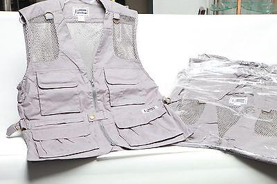 Professional Photographer vest in 100% cotton