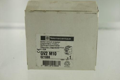 SCHNEIDER ELECTRIC TELEMECANIQUE GV2-M10 MOTOR STARTER PROTECTOR NEW