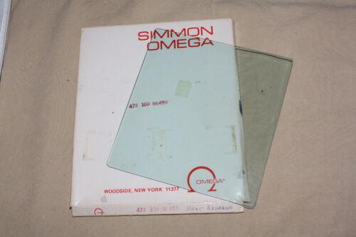 OMEGA D SERIES ENLARGER HEAT ABSORBING GLASS 473-103