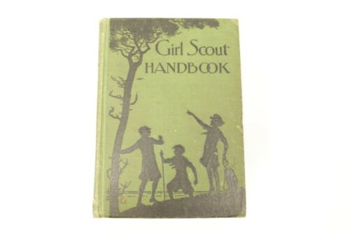 Vintage 1930 Girl Scout Handbook Revised Edition September 1930 Print