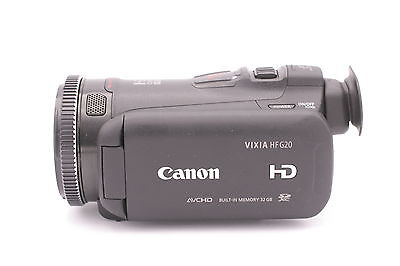 Canon VIXIA HF G20 HD Camcorder - Black (US Model) USA
