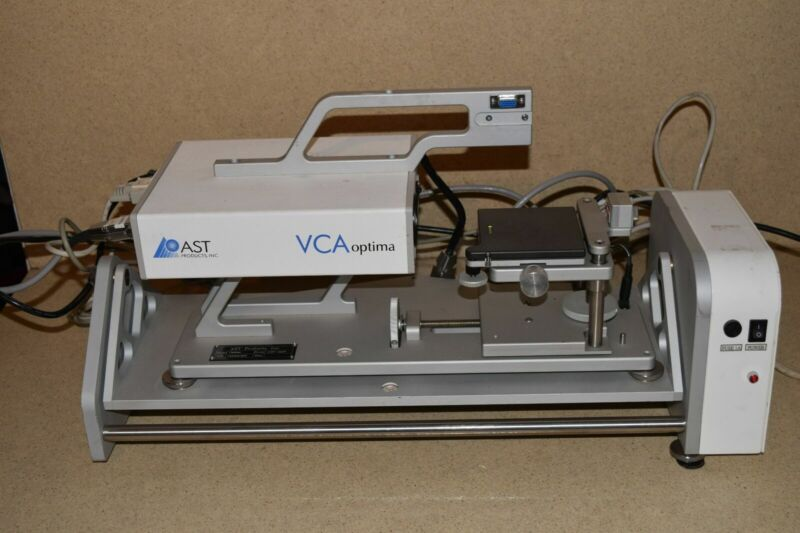 AST VCA OPTICA w/ TILTING STAGE II Angle Wafer Surface Analysis Inspection