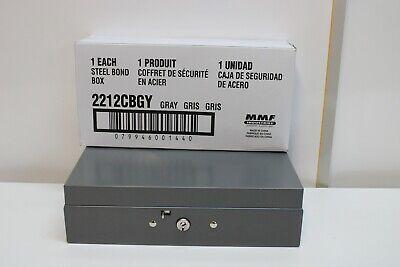 Mmf Steelmaster Cash Bond Box 2212cbgy