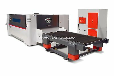 NEW NEW  RMT - KYSON FIBER LASER 6' X 20'  DUAL TABLES 4 KW